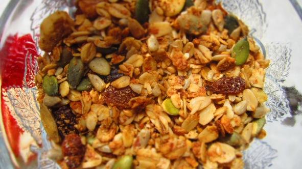 Deliciosamente sano granola 3