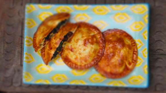 Empanaditas de espinacas y avellanas 2