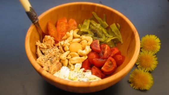 Deliciosamentesano ensalada tibia de judías verdes 2