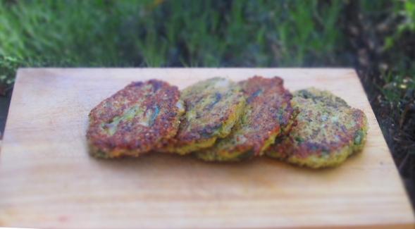 Deliciosamentesano hamburguesa de quinoa