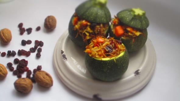 Deliciosamentesano calabacines luna rellanos de arroz árabe (3)
