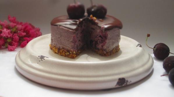 Deliciosamentesano tarta de cerezas (11)