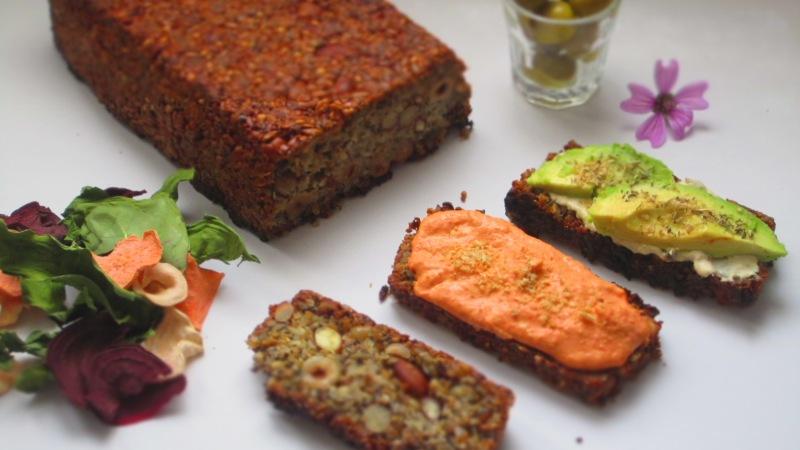 Deliciosamente sano pan de semillas y chia (3)